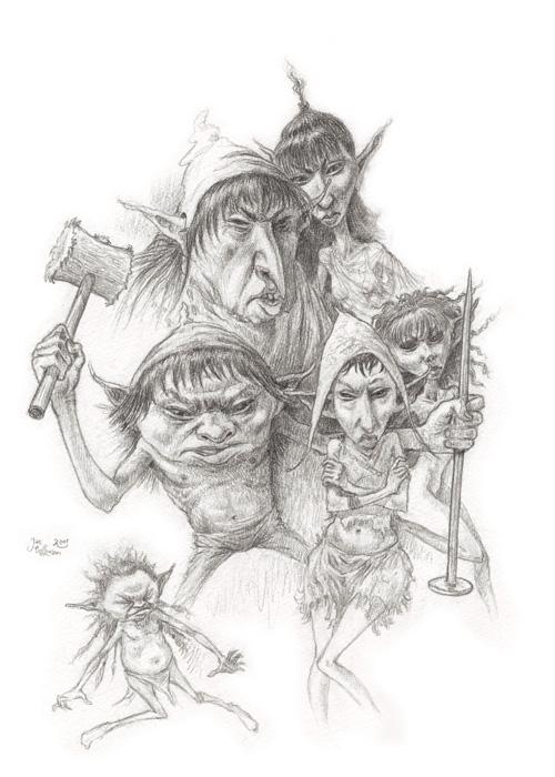 Fantasy Illustrationen Jan Hoffmann Illustrationen